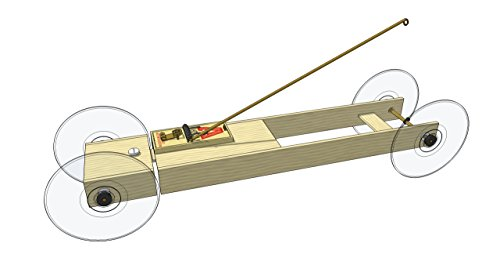 Basic II Mousetrap Car Distance Kit: by Doc Fizzix