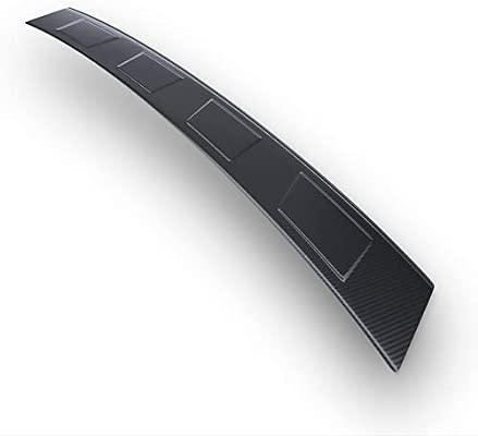 Steel rear bumper protector carbon foil 5902538802116