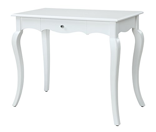 Convenience Concepts French Provence Desk, 36-Inch, White