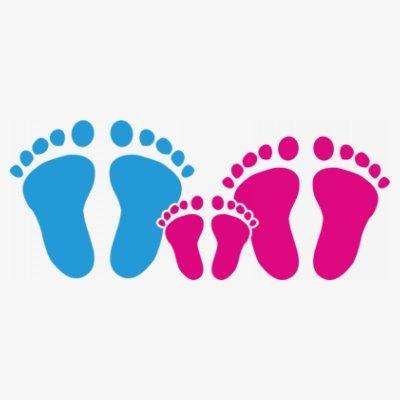 Sudadera con capucha de mujer Family Feet Daughter by Shirtcity Blanco