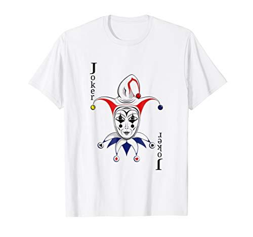 Joker Playing Card T-Shirt -