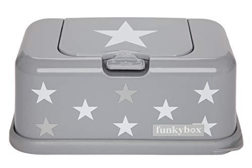 FunkyBox Grey Star Box–Silver