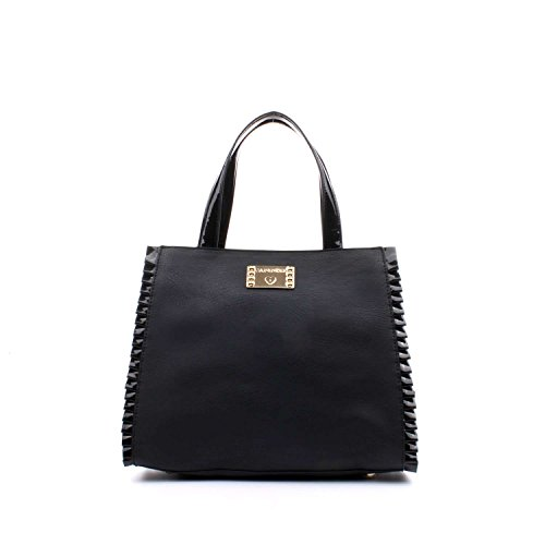 CafèNoir LBO001 Bolso Shopper Mujer TU