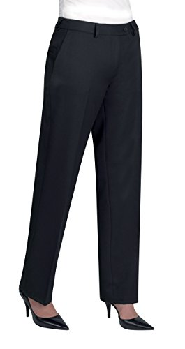 Brook Taverner Womens/Ladies Aura Formal Work/Suit Pants/Trousers (10U) (Navy) (Tabbing Machine)