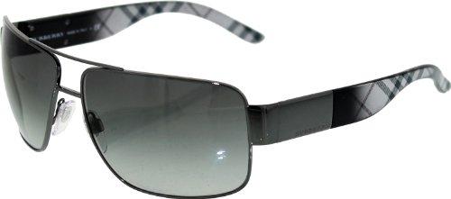 Burberry Sunglasses - 3040 / Frame: Gunmetal Lens: Gray - Burberry Sunglasses Square
