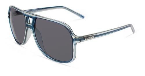 Converse Backstage Monitor MNTRNAV58 Aviator Sunglasses,Navy,58 mm