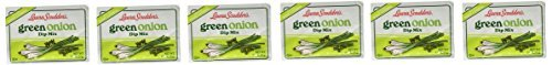 Green Onions - Laura Scudder's Dry Dip Mix, Green Onion, 0.5-ounce (Pack of 6)