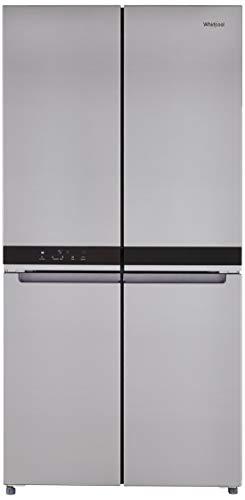 Whirlpool 677 L Inverter Frost-Free Multi-Door Refrigerator (WS QUATRO 677 SATURN STEEL, Saturn Steel)