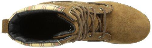 Plaid marrone Da Dorset Multicolore Donna Lace Sebago Mehrfarbig Stivali wS0841
