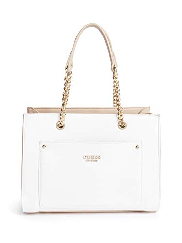 GUESS Factory Women's Victorya Multi-Compartment Satchel