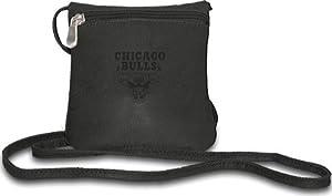 NBA Pangea Black Leather Women's Mini Handbag