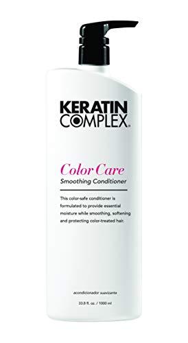 Care Conditioner Color Keratin - Keratin Complex Color Care Smoothing Conditioner, 33.8 oz