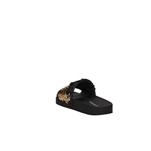 Madden Slide Sandals Black Sequins Black Steve aYwq71w