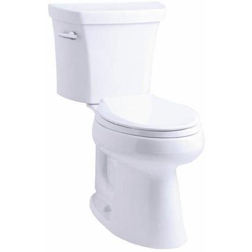 Kohler K-3999-0 Highline Comfort Height 1.28 gpf Toilet, White (0 White Highline Elongated Bowl)