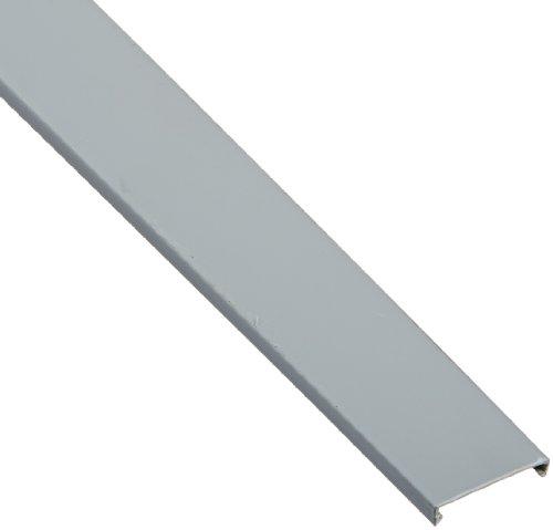 Panduit C1.5LG6 Wiring Duct Cover, PVC, Light Gray