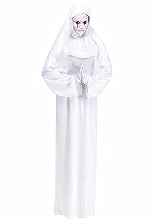 American Horror Story estilo gótico monja blanca traje ...