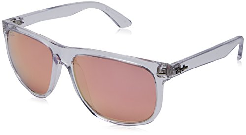 Ray-Ban RB4147 6325/E4 Non-Polarized Sunglasses, Trasparent/Pink, 56mm (Polarized Ray Ban Rb4147)