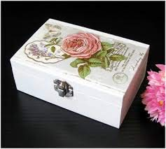 A4 // 20x20 cm Total 3 Sheets Paper for decoupage Vintage Style