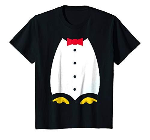 Kids Penguin Tuxedo Costume T Shirt 6 ()
