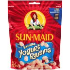 Sunmaid Vanilla Yogurt Raisins 7 OZ (Pack of 24) by Sun Maid