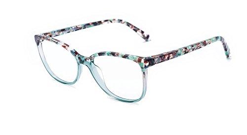 Amazon.com: Etnia Barcelona Veracruz TQ, Turquoise, 55-16mm, Eyewear ...