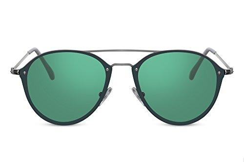 de UV400 Colorés Lunettes chat Style Lunettes Vert5 yeux Branchées de Cheapass soleil Protection Verres A7qpxw4v0