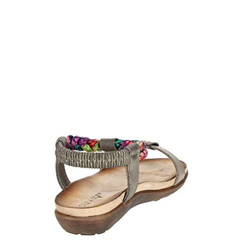 Cinzia Mujer Bronce Sandalias Soft Icc10203 002 THwRFTrxq