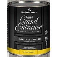 Paint Aura Benjamin Moore - 1 Quart, Aura Grand Entrance High Gloss(148)