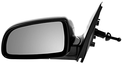 Manual Remote Mirror Left LH Driver Side for Chevy Aveo (4dr Side Mirror)