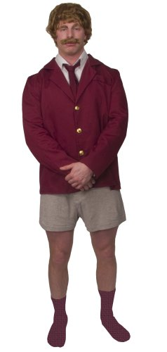 Ron Burgundy Suit (Newsman Ron Burgundy Costume Adult Standard 100031)