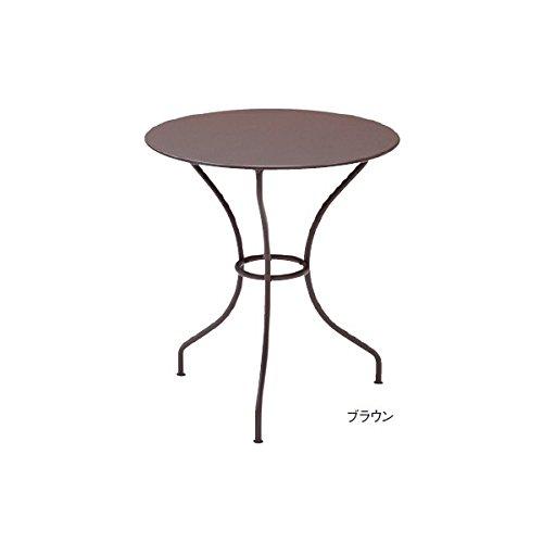 ユニソン フェルモブ オペラテーブル670 『ガーデンテーブル』 ブラウン B00AE25HBG