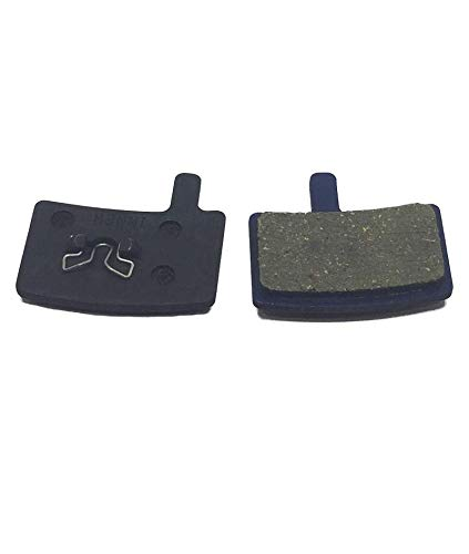 Hardheaded Ram Disc Brake Pads Resin-Organic for Hayes Stroker Trail-Carbon. Fast Breaking in on Mountain-Bike or Road- Bicycle. Excellent Cycling Upgrade.