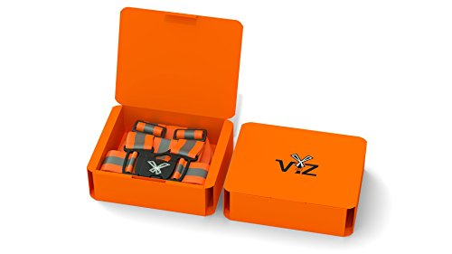 247 Viz Reflective Vest with Hi Vis Bands, Fully Adjustable & Multi-Purpose: Running, Cycling Gear, Motorcycle Safety, Dog Walking & More - High Visibility Neon Orange by 247 Viz (Image #2)