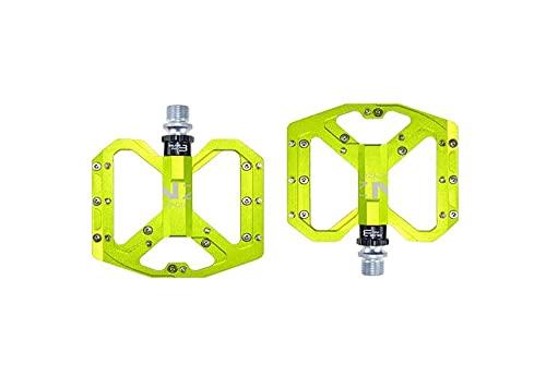 "SXCXYG Fiets Pedalen Mountainbike Pedalen Platform Fiets Platte Legering Pedalen 9/16 ""3 Lagers Voor Road MTB Fixie Fietsen Mtb Pedalen"