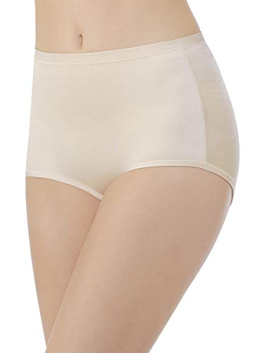 Body Caress Brief - Vanity Fair Women's Body Caress Brief Panty 13138, Damask Neutral, 2X-Large/9