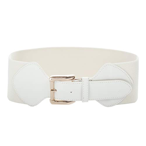 50s Vintage Leather Elastic Cinch Belt Waistbelt CL998-2 -