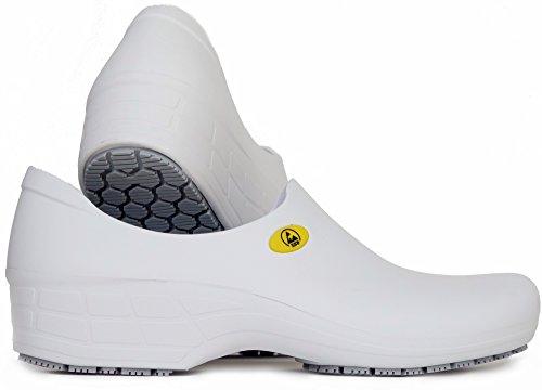 White Stickypro Women Canada Slip For Shoes Epi Resistant Antistatic Esd 8xqzpSwv