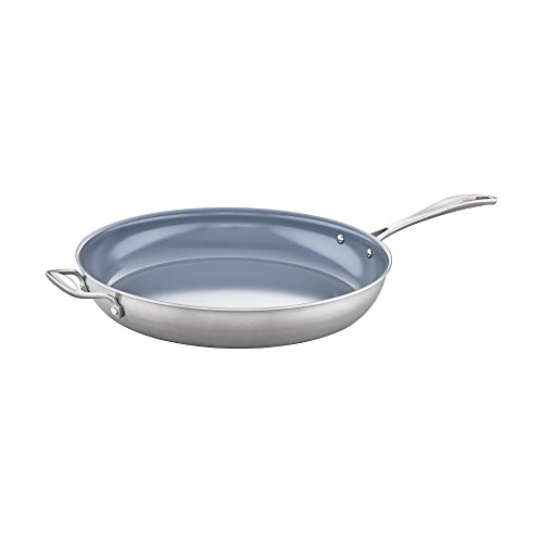 ZWILLING Spirit 3-ply 14'' Stainless Steel Ceramic Nonstick Fry Pan by ZWILLING J.A. Henckels