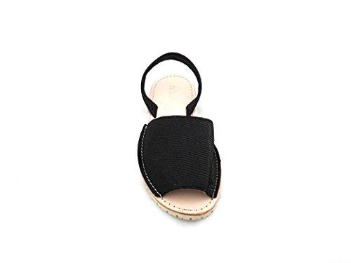 NILA&NILA Wl59001 - Sandalias de vestir de Piel para mujer negro