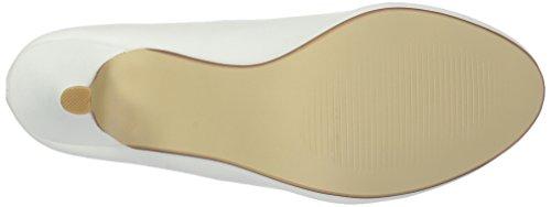 Brinley Co Womens Miles Jurk Pump Regular & Wide Sizes White Soepel