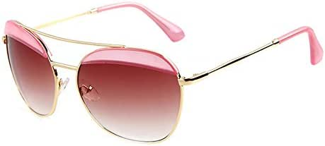 Outray Women's Colorful Oversized Round B116 Sunglasses
