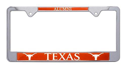 Plate Texas Metal Longhorns License - All Metal NCAA UT Longhorns Alumni License Plate Frame (Texas)