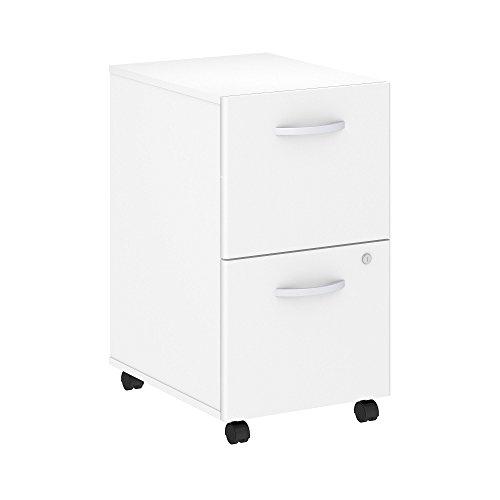 Bush Business Furniture Studio C 2 Drawer Mobile File Cabinet in (Bush 2 Drawer File Cabinet)