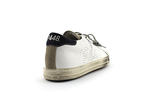 Sneaker P448 A6JOHN WHI/NAV - Size:39