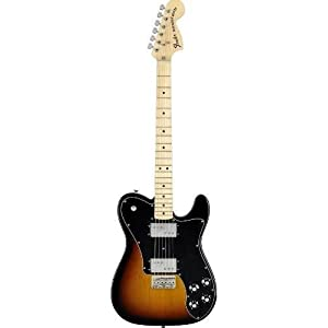 Fender 0137702300 Classic Series '72 Telecaster Deluxe Maple Fingerboard 3-Color Sunburst Electric Guitar
