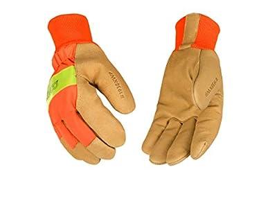 Kinco Grain Pigskin Waterproof Insert Glove