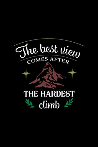 The Best View Comes After the Hardest Climb: Basketball Coaches Daily Planner - Sports Player Journal  - Training NotebookStrategies