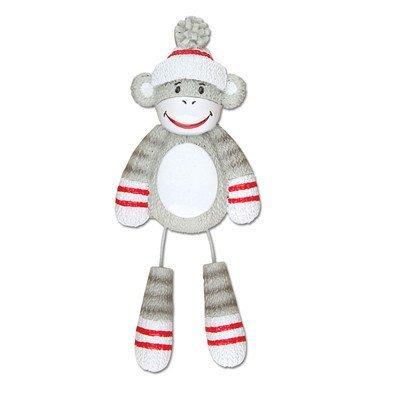 Grantwood Technology Personalized Christmas Ornaments Child-Sock Monkey/Monkey Ornament/Sock Monkey Ornament/Ornament Monkey]()