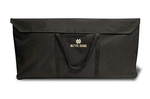 PROLINE NCAA College Notre Dame Fighting Irish 2' x 4' Cornhole Carrying Case (Regulation - Dame Today Game Notre