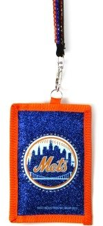 New York Mets Beaded Lanyard Wallet (New Lanyard York Mets)